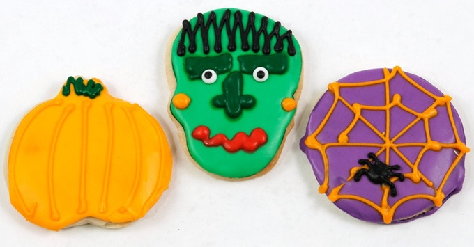 Halloween Spooky Cookies To Decorate Kit