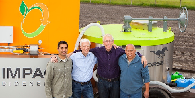 Impact and CSB Team, Srirup Kumar, Michael Smith, Jan Allen, and Pete Agtuca