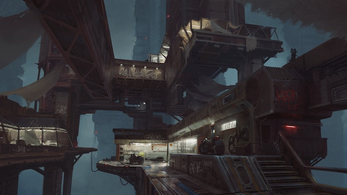 In-Game District: Slums