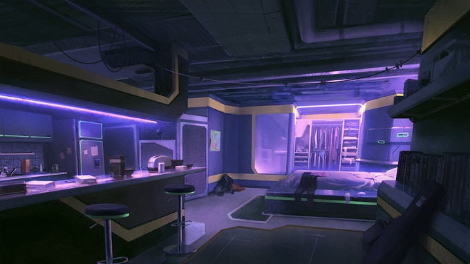 Shizume's Apartment