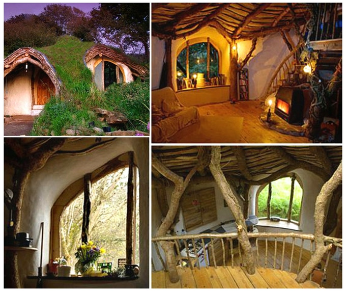 An earth sheltered home, similar to our Poddit Hole, has been built in Wales.
