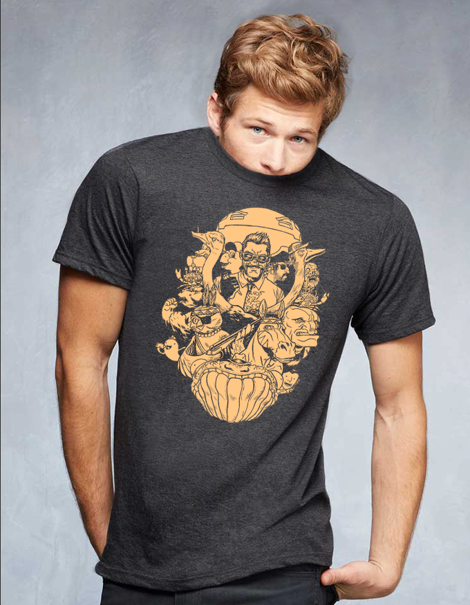 This super cool American Apparel shirt can be yours--if you dare!