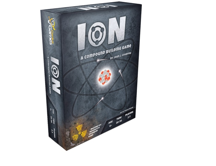 An Explosively Fun Card Game for 2 -7 players about the chemistry of basic elements, ionic bonding, and everyday compounds!