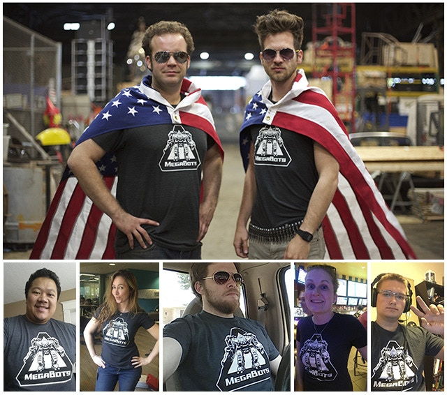 Join Team USA and show off your home team pride with a crew shirt!