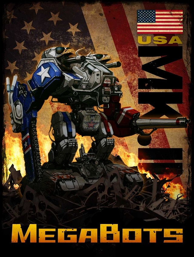 The Mk.II concept art poster