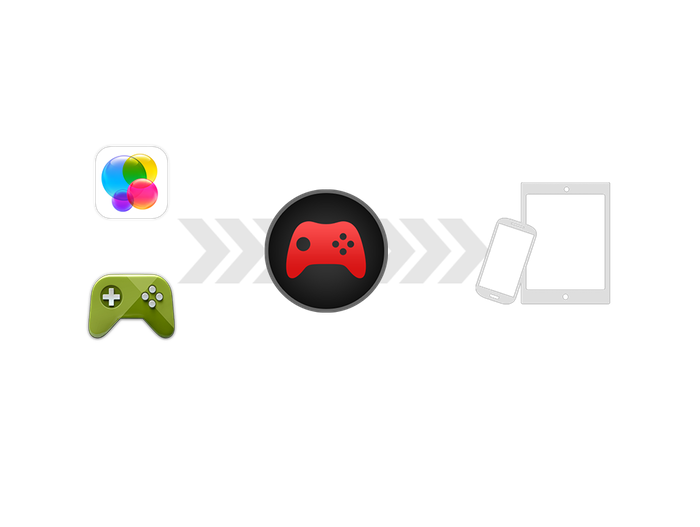 A cross-platform multi-service gaming AIR native extension. Provide a common ANE API to Google Play Services, Apple Game Center + more