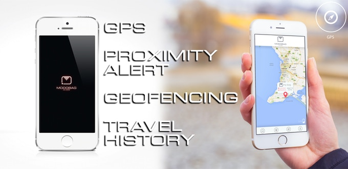 Never lose track of your bag with GPS, Proximity Alert, Geofencing, and Travel History to show where you've been!