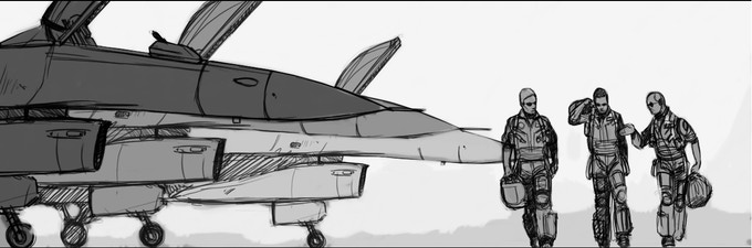 Story Board BTi Part 2 Air Force flight line