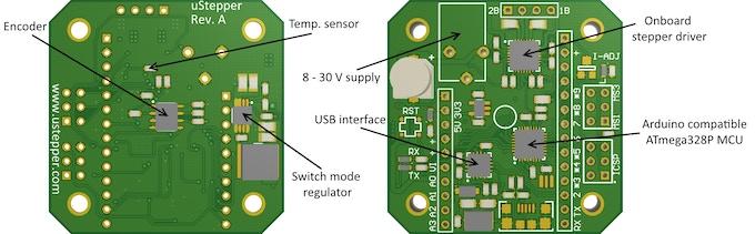 3D view of preliminary PCB design