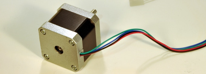 Premium kit includes a suitable stepper motor (model may vary)