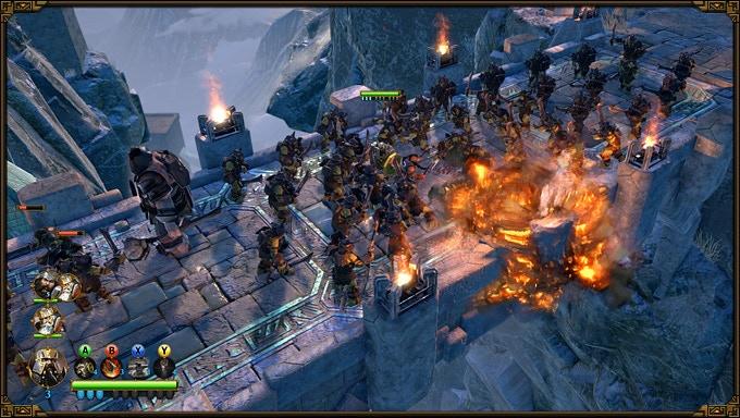 Fight against hundreds of enemies in physics-based battles