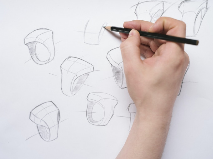 Sketching the ŌURA ring