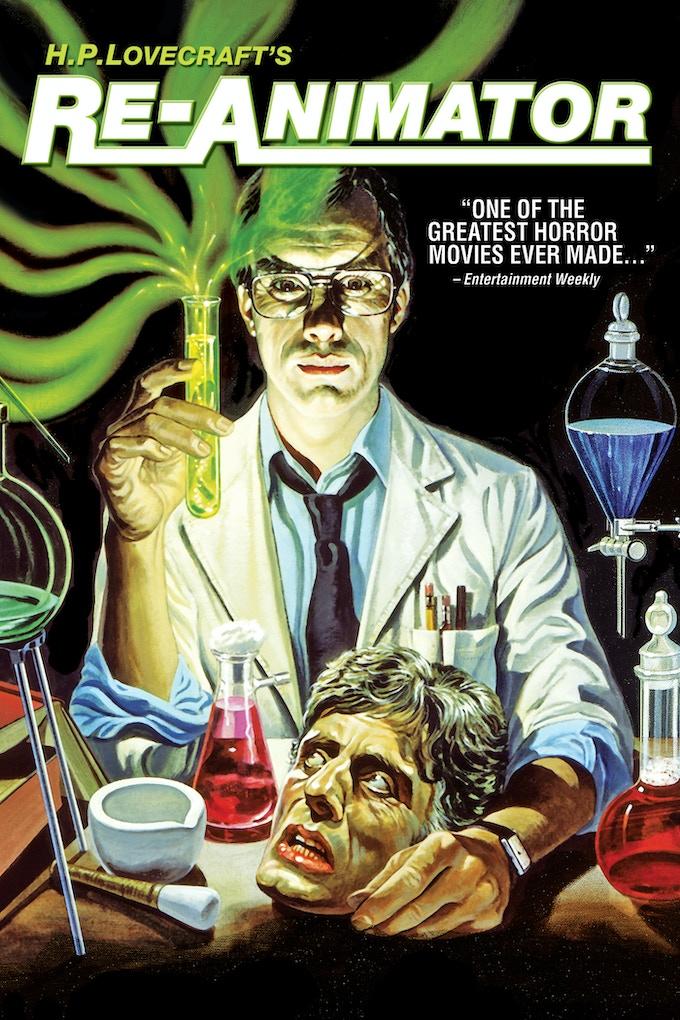 Jeffrey Combs starred as Dr. Herbert West in Stuart Gordon's horror classic RE-ANIMATOR