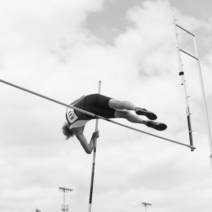Don, 76, setting a world record. Minneapolis, 2015.