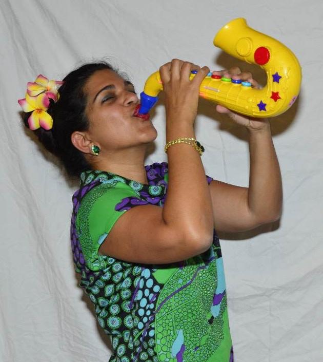 Usma rockin the sax