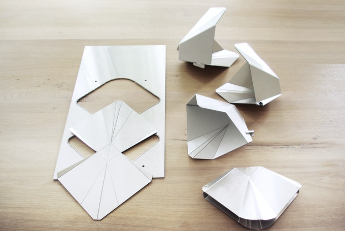 Different prototypes to define the best shape