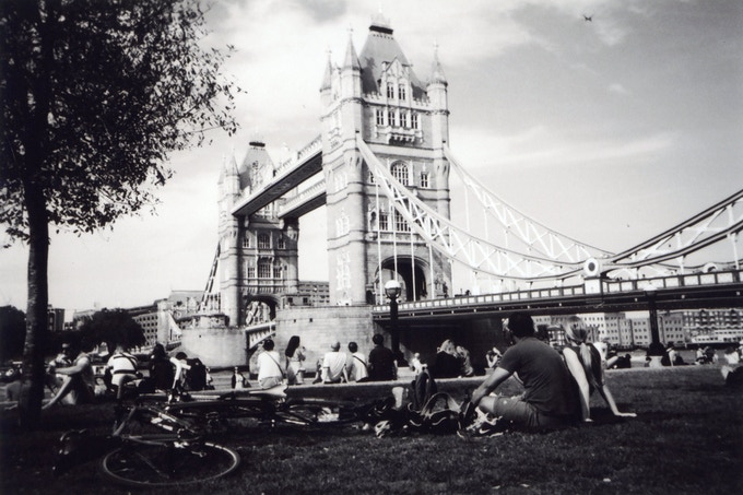 JULY 2016: Tower Bridge Picnic, Southwark, by Cecie.