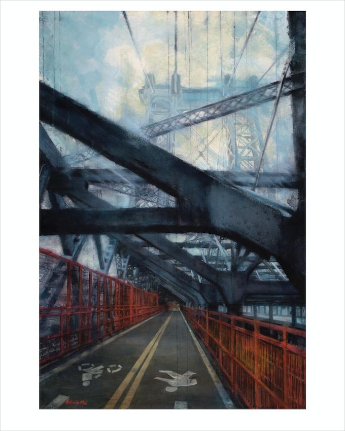 """""""Willie B"""" (Williamsburg Bridge)"""