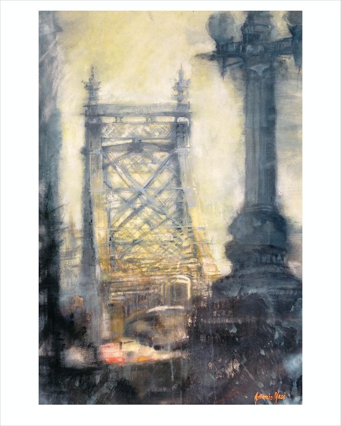 """""""Late Day"""" (Queensboro Bridge)"""