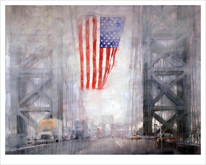 """Flag"" (George Washington Bridge)"