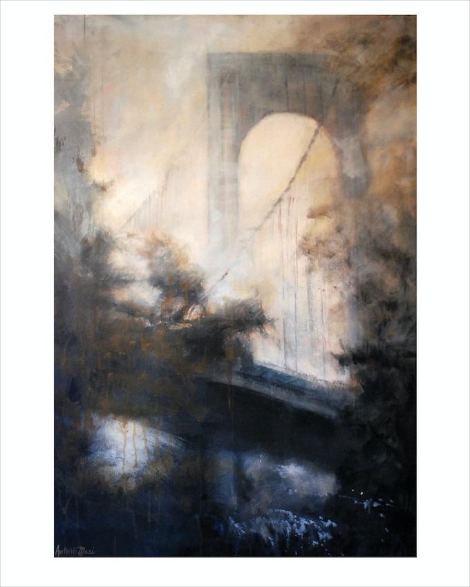 """Wispy Tower"" (Bronx-Whitestone Bridge)"