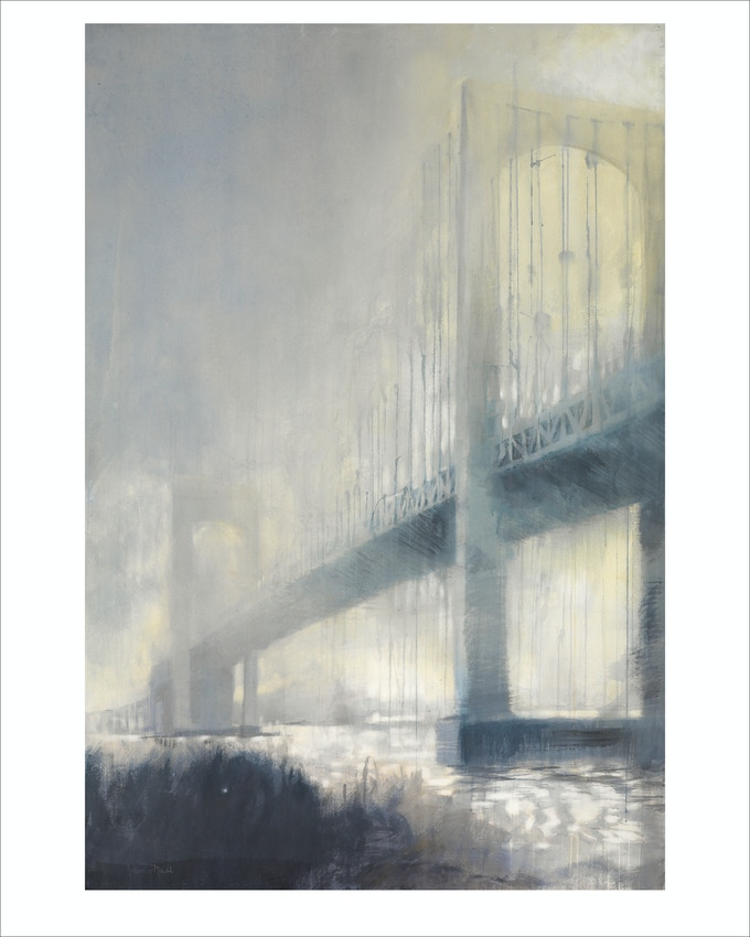 """Impending Storm"" (Throgs Neck Bridge)"