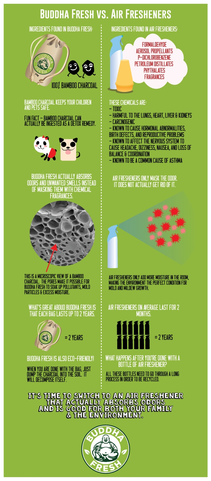 Buddha Fresh vs. Chemical Air Fresheners