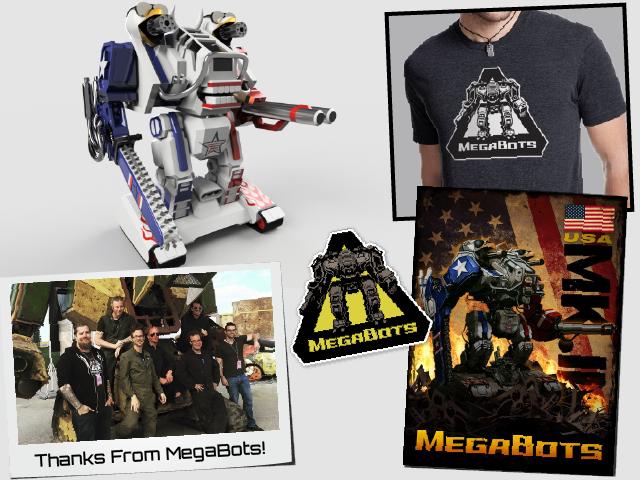 Ultimate Swag Kit! Including 3D Printed MegaBot