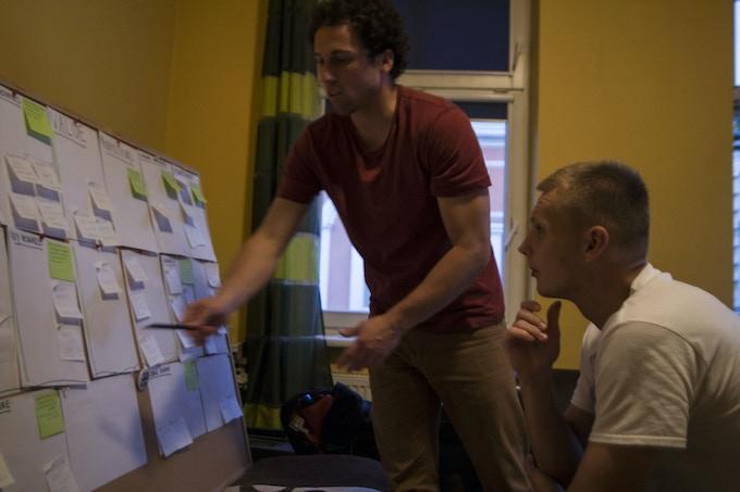 Brainstorming session in Szczecin