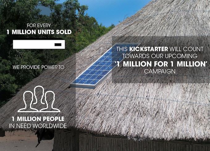 Pocket Sun '1 Million for 1 Million' Campaign