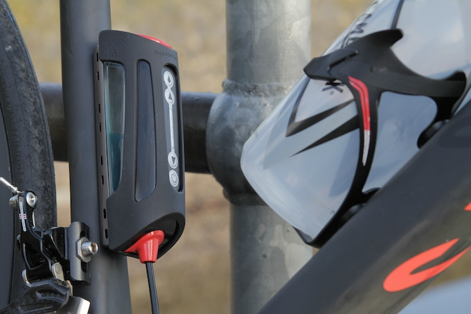 S1 system with the bottle cage mount
