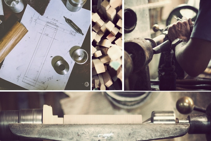 A snapshot of the design and fabrication process