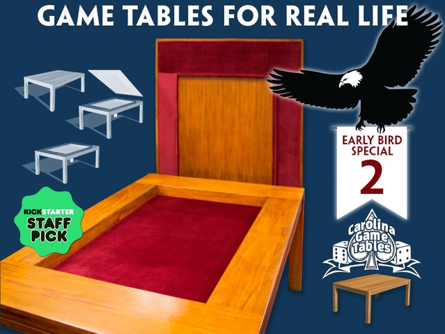 Carolina Game Tables by Jodi and Clint Black — Kickstarter