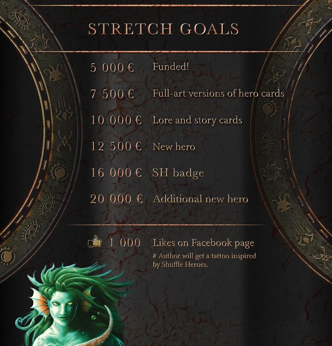 Help us unlock these stretch goals to make the game more epic!