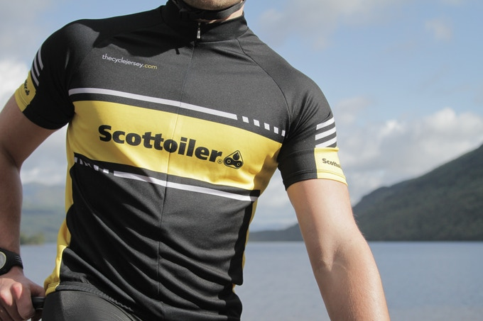 Scottoiler cycle jersey