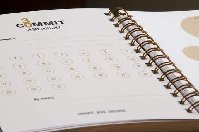 Commit30 Planner: Small Steps = Big Results! by Jenny ...