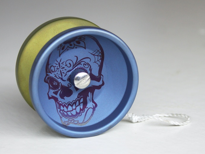 Skull Lazano Blue/Purple