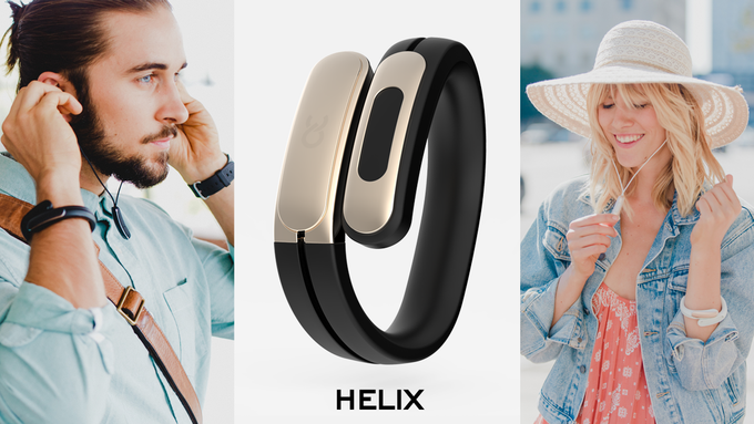 HELIX: The World's First Wearable Cuff with Stereo Bluetooth Headphones