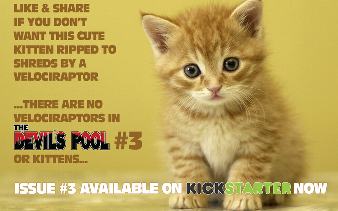NOTE - No Kittens were hurt in the making of this kickstarter campaign.