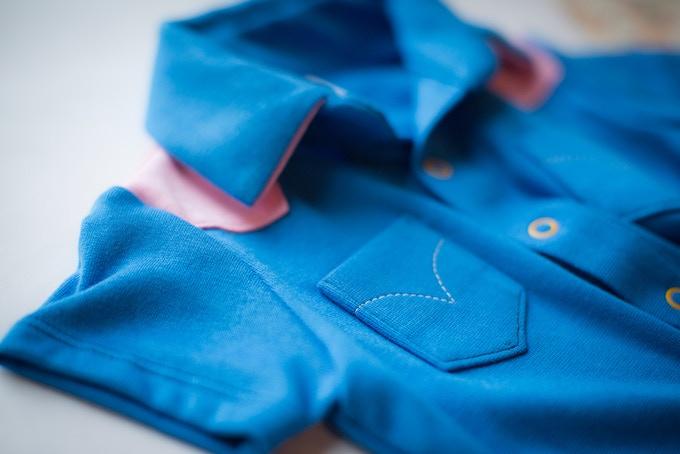 western shirt in blue
