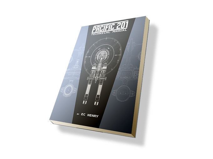 The Pacific 201 Technical Manual! Get an inside look at the designs, history, production details behind the creation of Pacific 201!