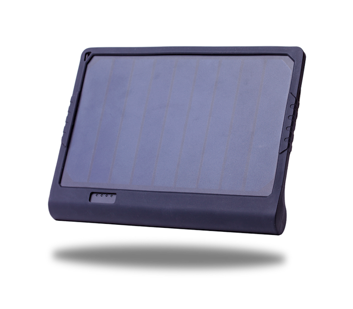 PowerTAB is a portable solar system that finally makes you 100% independent. Highly efficient solar panels + batteries like in the Tesla Model S.