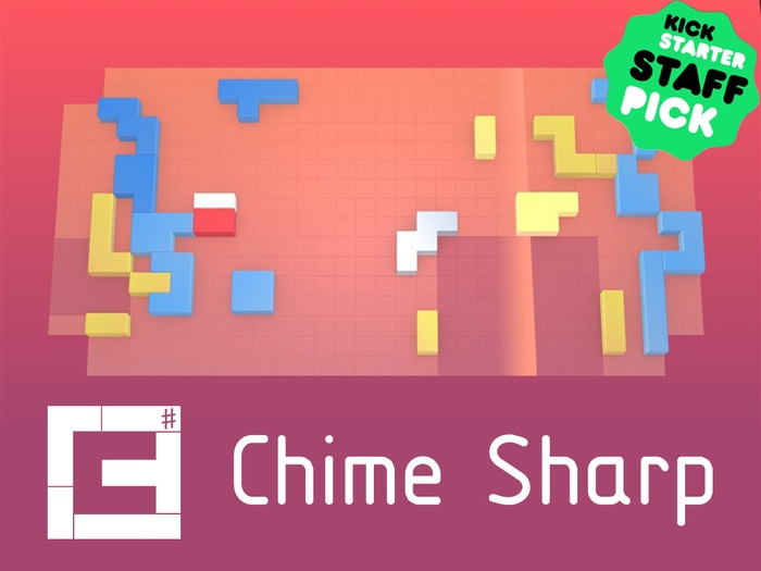 Chime was a much-loved music puzzle game on Xbox Live Arcade, PC, and PSN. Chime + new music + new modes + new visuals = CHIME SHARP.