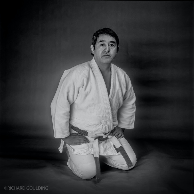 Akinori Hosaka, photographed in my studio 1988