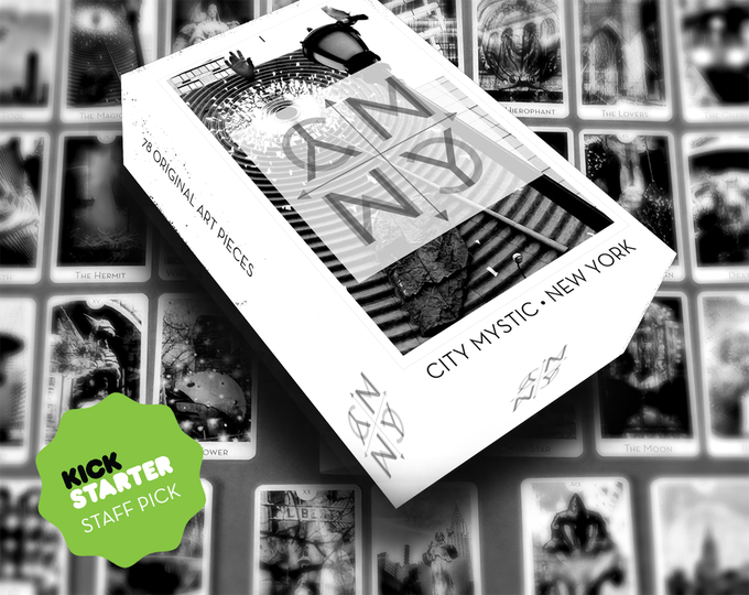 City Mystic • New York, successfully funded September 2014, some copies available as campaign rewards.