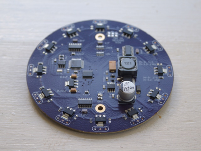 A functional prototype circuit board