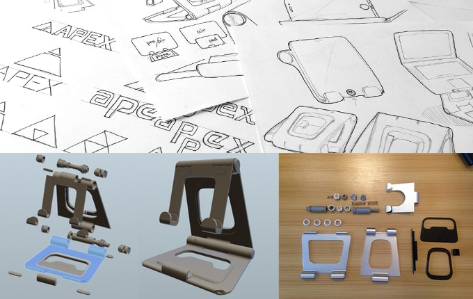 Apex Stand Designs : The world s best laptop stand apex revolution by