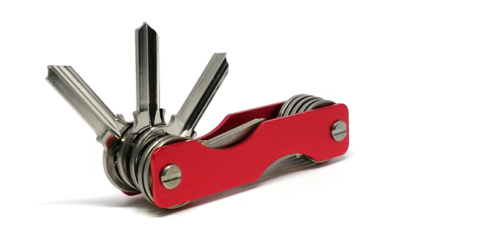 Universal - As long as your keys are flat and has a hole larger than 3mm, they will fit.
