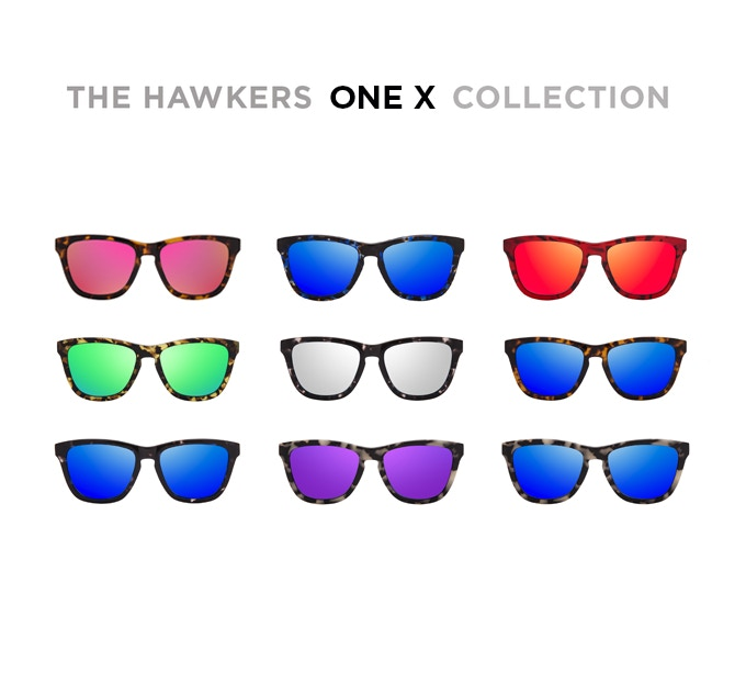 The Hawkers ONE X collection