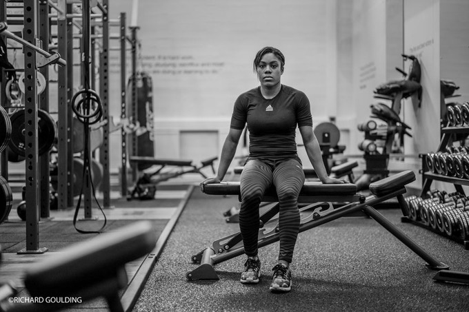 NEW SCHOOL: Nekoda Davis, Commonwealth Games Champion -57kg, she says the best is yet to come...
